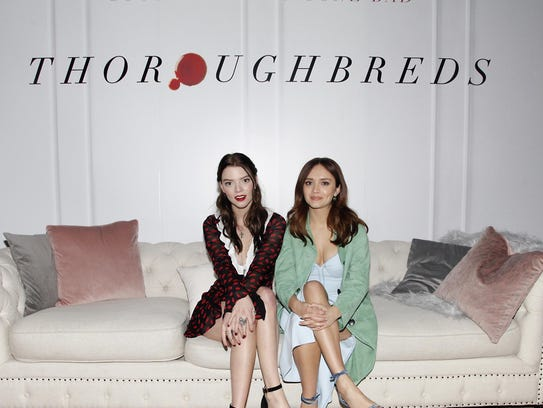 Anya Taylor-Joy, left, and co-star Olivia Cooke attend