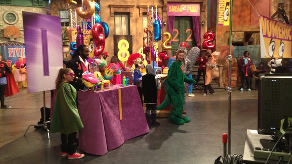 Photos: What I learned on the set of 'Sesame Street'