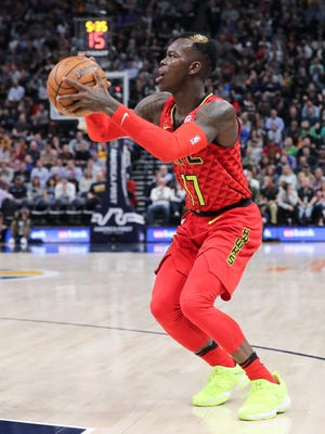 Dennis Schroder is averaging 19.4 points and 6.2 assists per game for the Atlanta Hawks.