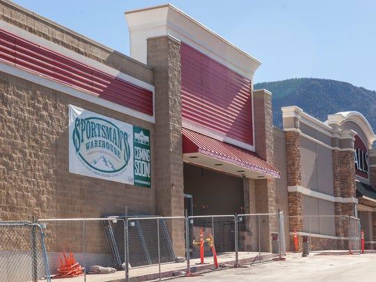 Cedar City's Sportsman's Warehouse under construction, Tuesday, Nov. 15, 2016.