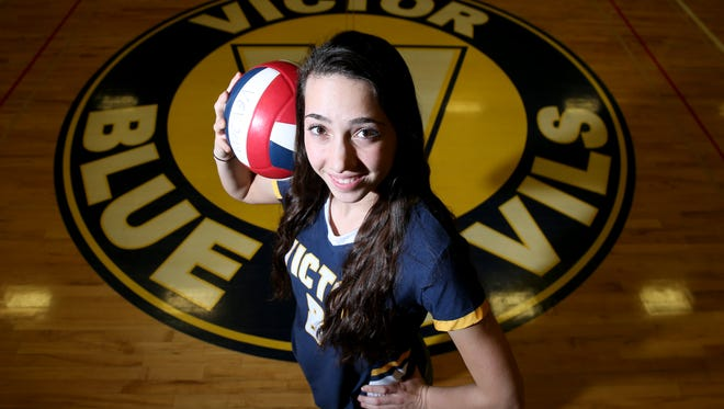 Amanda Dake was named the All-Greater Rochester Player of the Year in girls volleyball in 2017.
