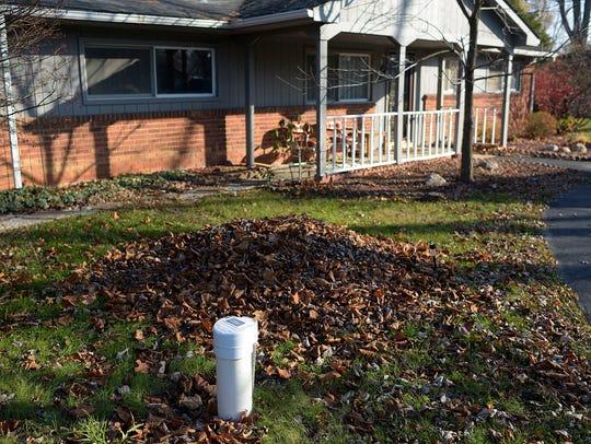 A new well outside of resident Adam Kellert's house.