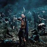 """Sullivan Stapleton as Themistokles in """"300: Rise of an Empire."""""""
