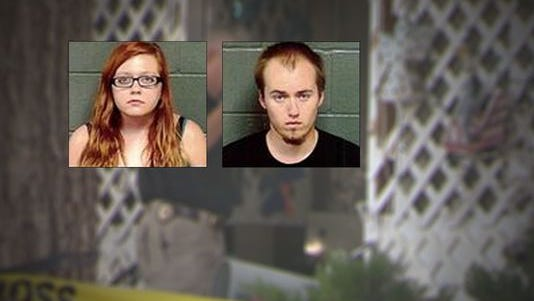 Brendan Johnson, 19, and his girlfriend, Cassandra Rieb, 18, were both charged with first-degree murder in the May.