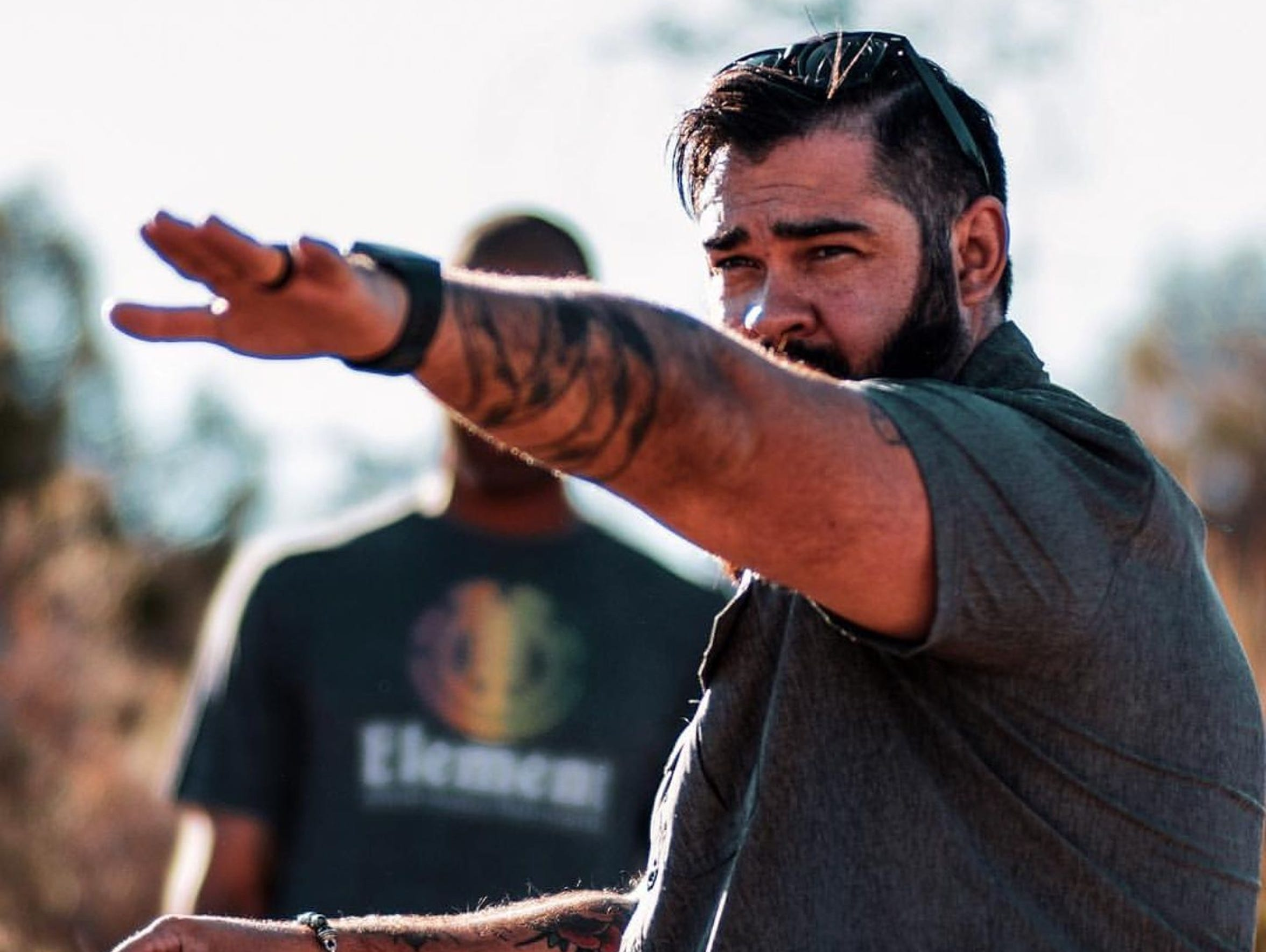 Local filmmaker Brent Garcia is organizing a film festival