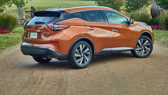 Nissan says it wanted the styling of the 2015 Murano crossover SUV to be dramatic, provocative. It resembles the Resonance concept car at the Detroit auto show in 2013.