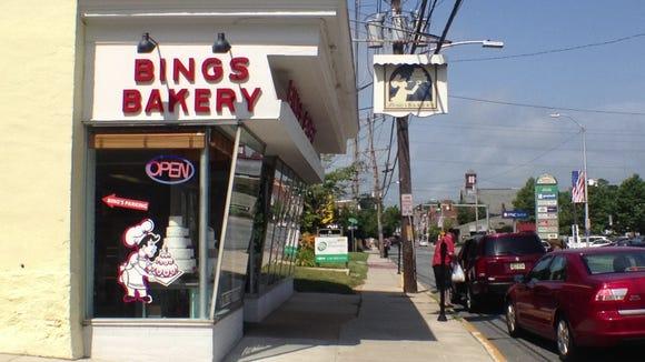 Bing's Baker in Newark.