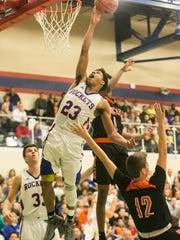 Spring Grove's Eli Brooks (23) will play for Michigan