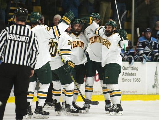 Maine vs. Vermont Men's Hockey 03/08/15