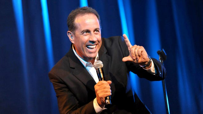 Jerry Seinfeld will be performing at the Abraham Chavez Theatre in Downtown El Paso on July 28. Tickets go on sale May 20.