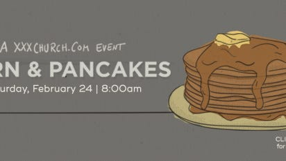 """The Central Church in Sioux Falls plans to host a """"Porn and Pancakes"""" event focusing on pornography addiction."""