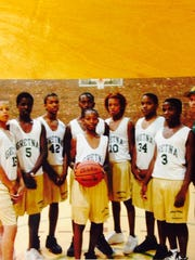Suns point guard Elfrid Payton as a youth basketball