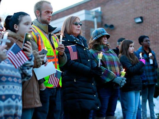SPIN Fallen Firefighters Vigil