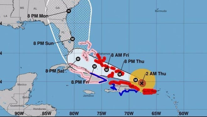 """The infamous """"cone of uncertainty"""" will slim down this year, the NHC announced Monday."""