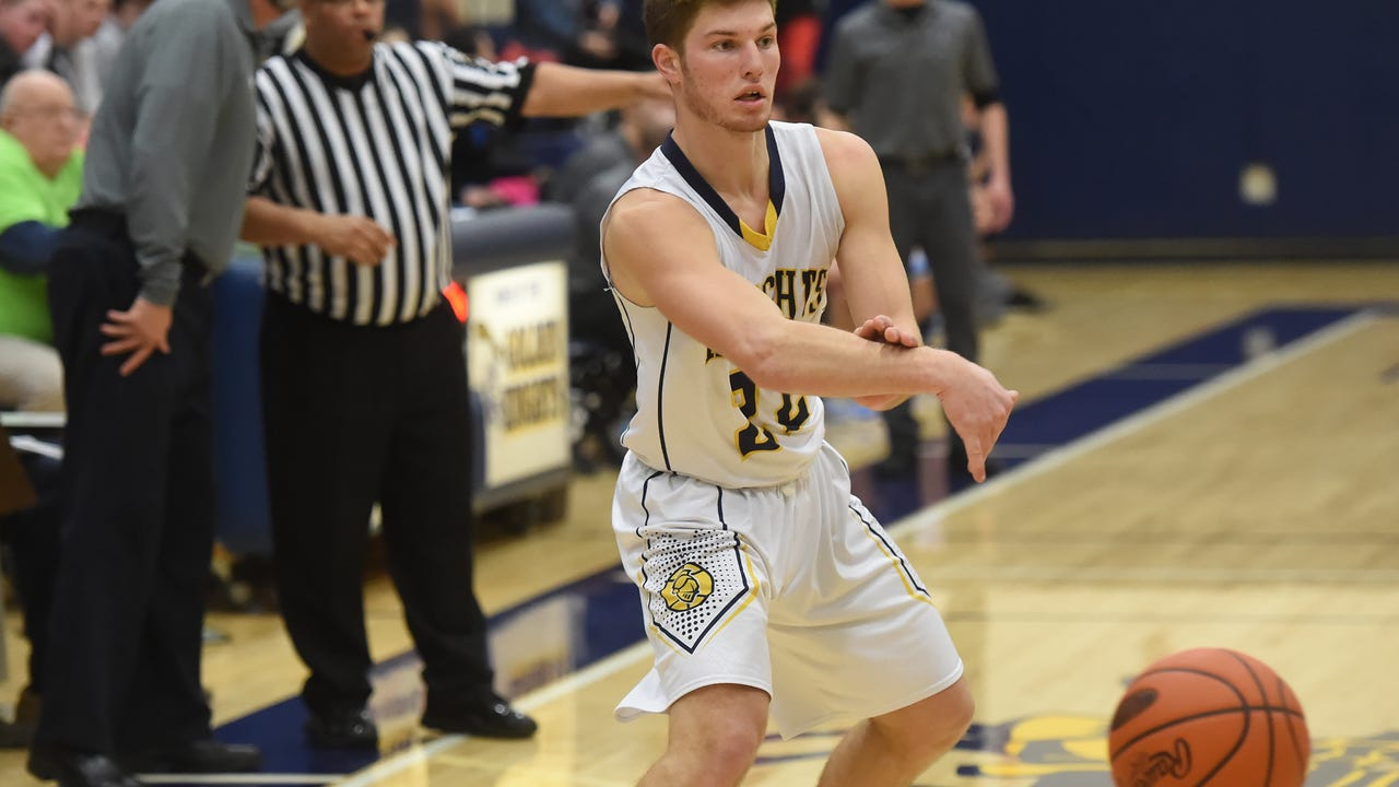 Watch highlights from Eastern York's boys' basketball game against Lancaster Catholic Wednesday, Feb. 1, 2017.