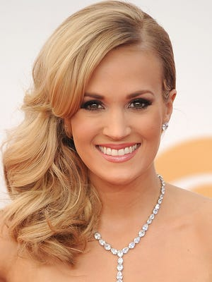 Carrie Underwood posted a picture on Instagram of her newborn son on Sunday.