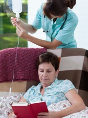 Home care IV treatment provided by McLaren Port Huron.
