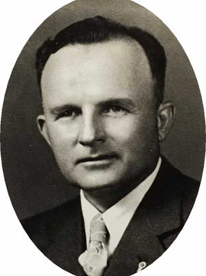 A. A. 'Buck' Hendry in the early 1940s.