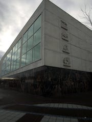 The former Wells Fargo building in 2002.