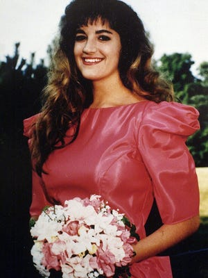 A 1992 photo of Mary Byron who was killed ten years ago by her estranged boyfriend after he was released from jail without her knowledge.-  -Caption: Mary Byron, seen here in a 1992 photo, was killed in 1993 by an ex-boyfriend who had raped her weeks earlier. She was shot seven times while she warmed up her car in the Mall St. Matthews parking lot and prepared to head home to help decorate the family Christmas tree.