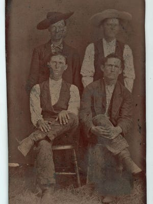 William Bonney was friends with the Jones Brothers, John, Jim, and Tom, whose family bought a trading post and ranch in 1877 in Seven Rivers, New Mexico Territory near the Texas Border.