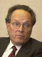 UT President Dr. John Shumaker.