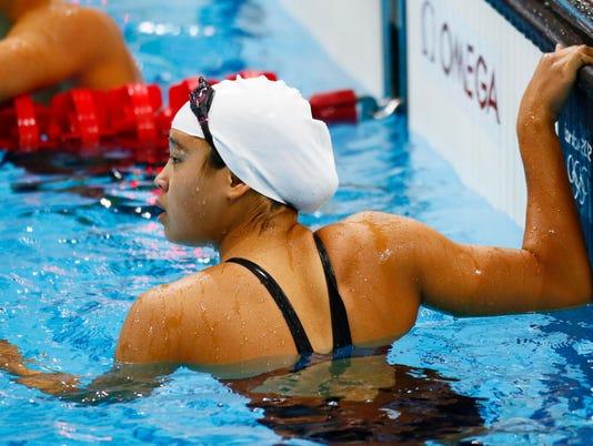 Olympics: Swimming-Women's 100m Breaststroke-Heats