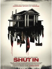 """The movie poster for """"Shut In."""""""