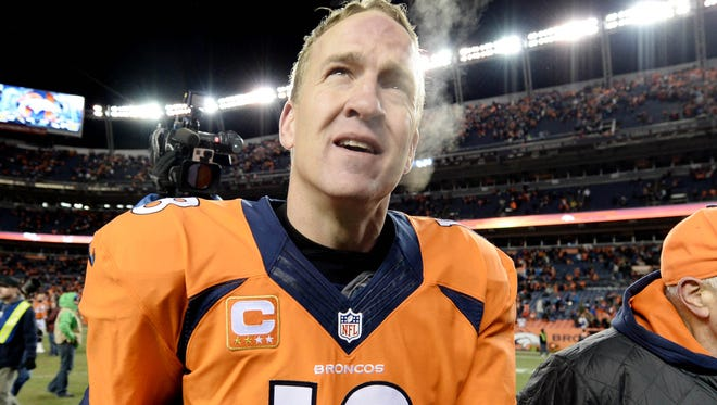 The Denver Broncos, led by 37-year-old quarterback Peyton Manning, have the oldest roster of the final four NFL teams.