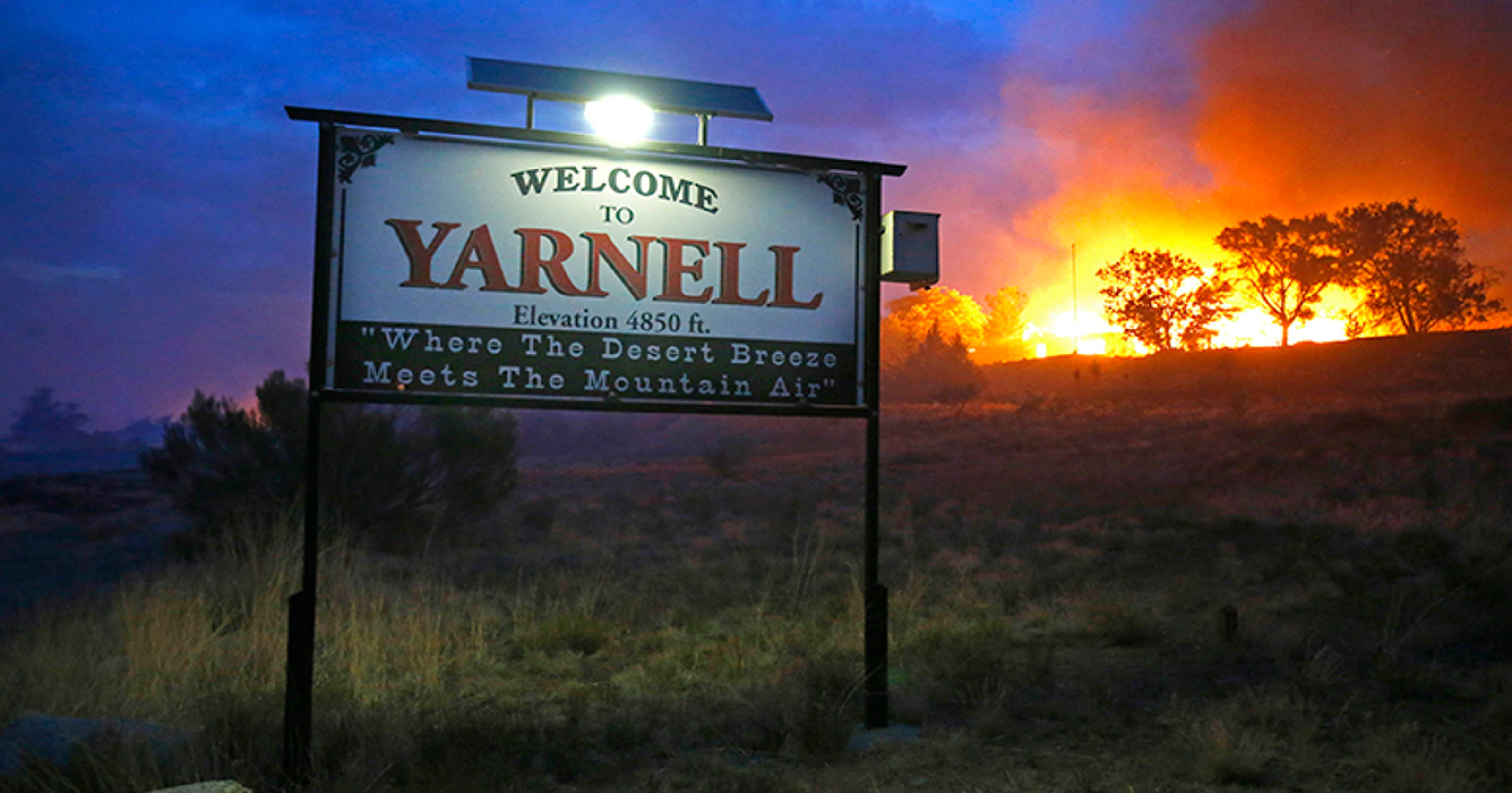 New account of hotshot deaths in Yarnell fire
