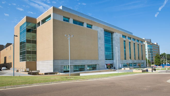 The new medical education building at the University of Mississippi Medical Center was dedicated in August 2017.
