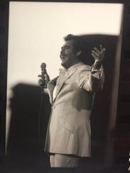 1983: Wayne Newton at the Iowa State Fair Grandstand.