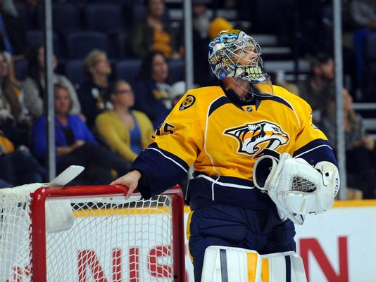 NHL: Preseason-Tampa Bay Lightning at Nashville Predators