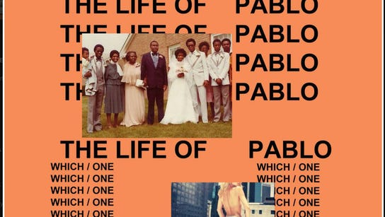 """Kanye West's seventh album """"The Life of Pablo"""" was"""