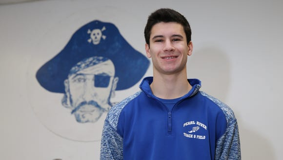 Pearl River senior, Brian Flaherty is the Rockland