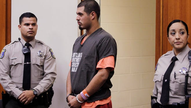 In this May 31, 2012, file photo, Antolin Garcia-Torres appears in a Santa Clara County courtroom in San Jose, Calif.
