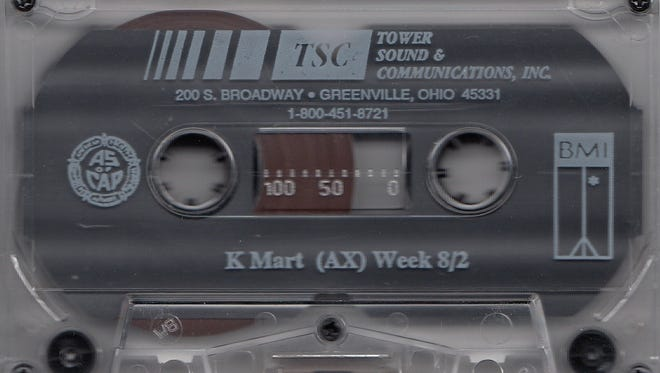 An in-store tape that played in Kmart stores the week of 8/2/1992