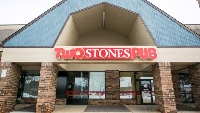 Two Stones Pub in Hockessin is finishing construction, and says it should open location in February, by Presidents Day.