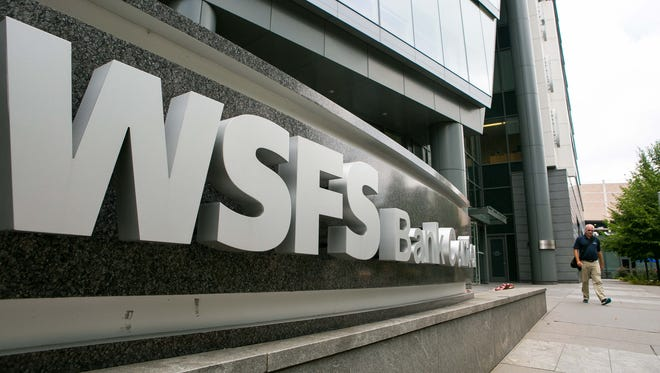 WSFS headquarters in downtown Wilmington.