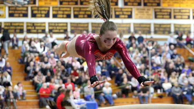 CVU's Laurynn Bombardier is one of five nominees on the ballot for the girls Athlete of the Week honor.