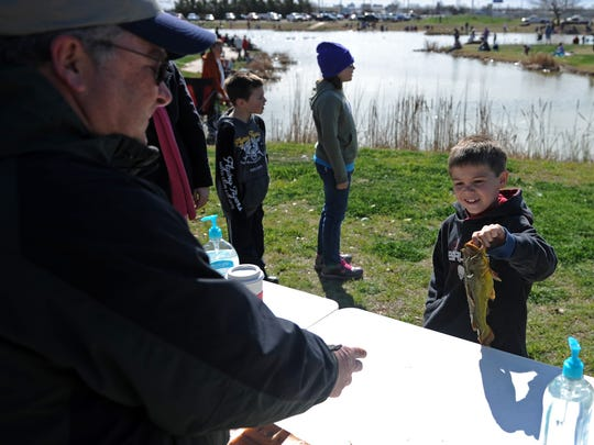 The Kids' Fishing Rodeo will return to Plum Lake from 10 a.m. to noon March 3.