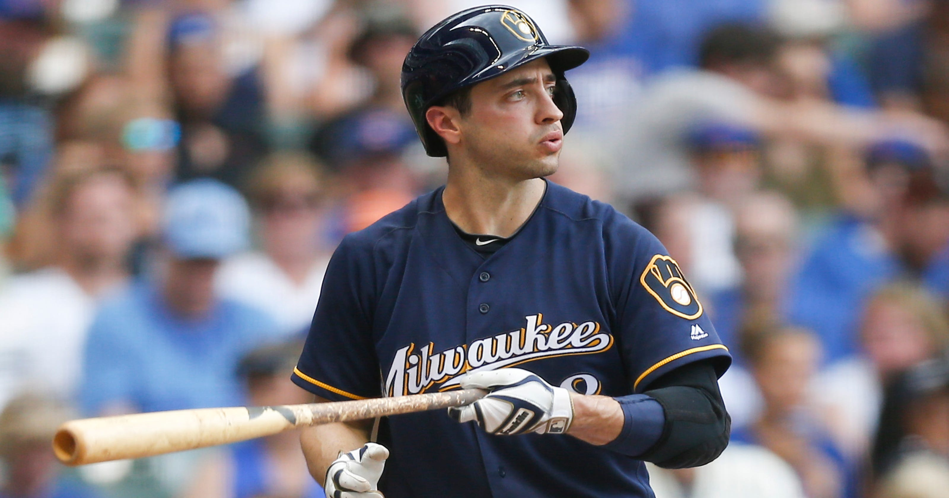 d7f24b7345b Brewers by position  Ryan Braun is last man standing in rebuild