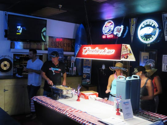 Ralph's Place, one of 10 stops on a recent Cape Coral