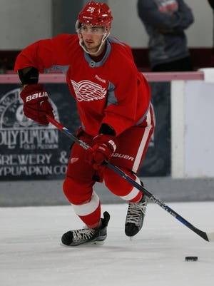 Red Wings forward Tomas Jurco