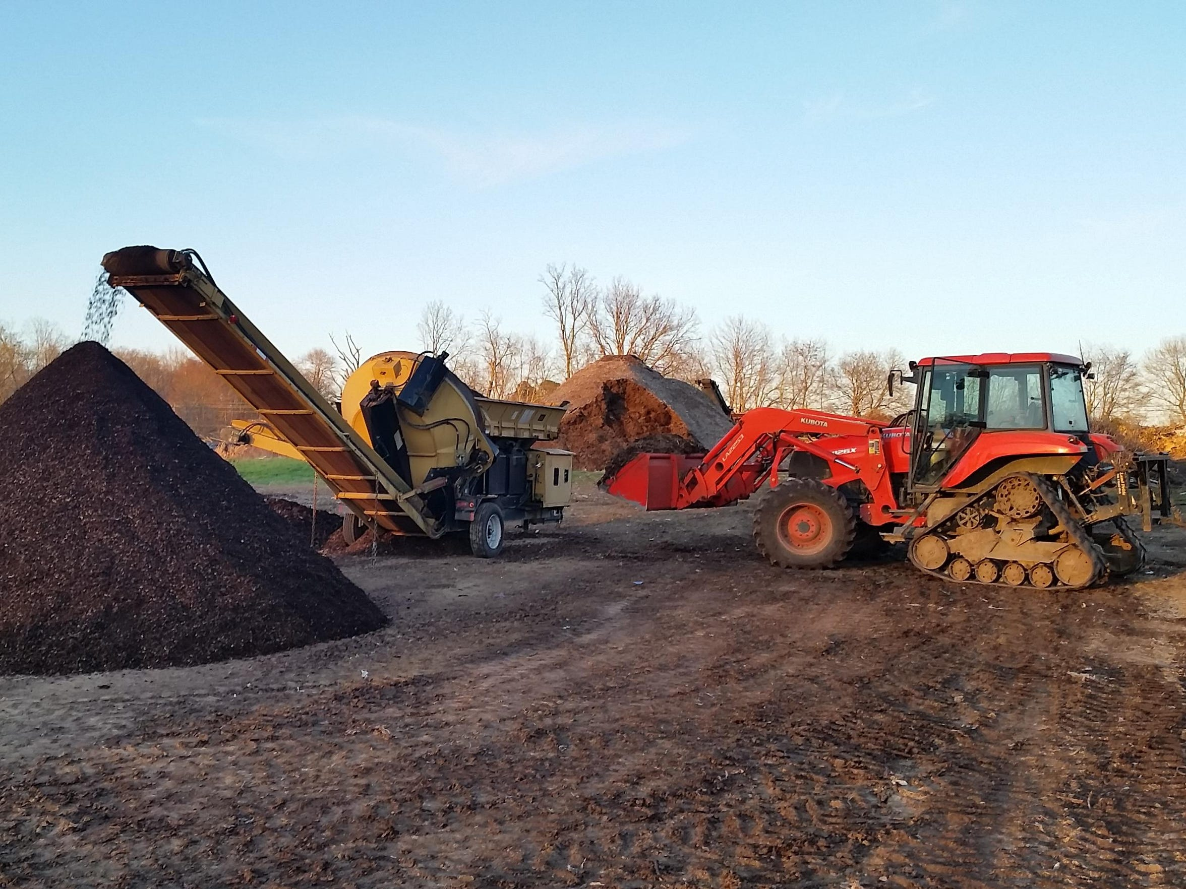 The Compost Company processes organic waste to make