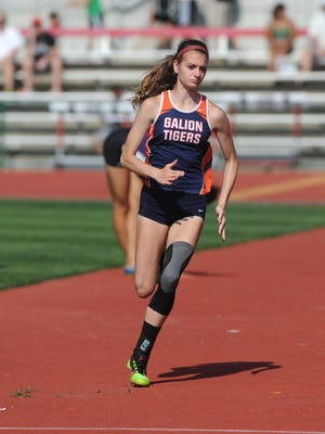 Galion's Marisa Gwinner will look to build off of last season's success placing at states in the high jump as a sophomore.