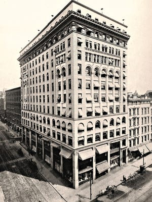 Noted local architect J. Foster Warner designed the Granite Building -to serve as the flagship store of the Sibley, Lindsay and Curr Company.