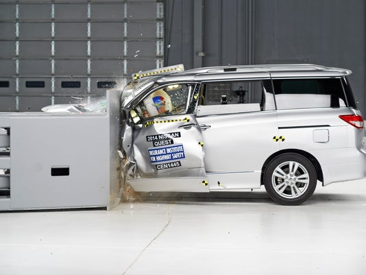 Crash Tests-Minivans