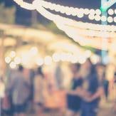 Blurred festival lights - Generic Image
