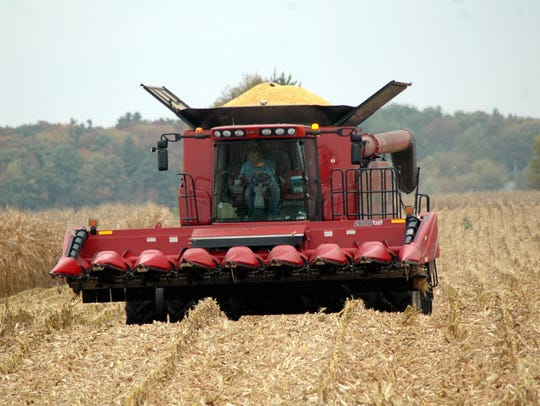 Wisconsin corn yields are coming in over the top this